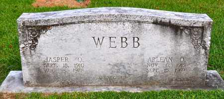 WEBB, JASPER O - Sabine County, Louisiana | JASPER O WEBB - Louisiana Gravestone Photos