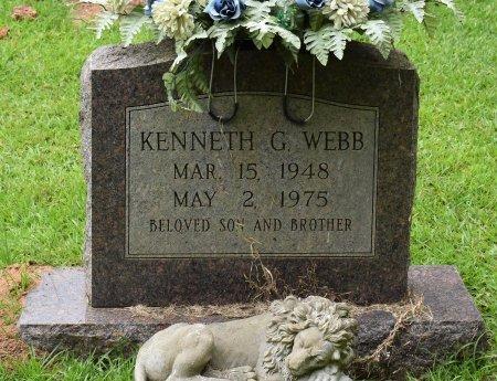 WEBB, KENNETH GLENN - Sabine County, Louisiana | KENNETH GLENN WEBB - Louisiana Gravestone Photos