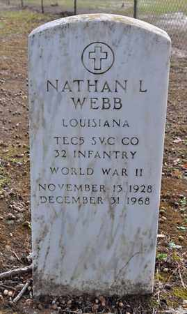 WEBB, NATHAN L (VETERAN WWII) - Sabine County, Louisiana | NATHAN L (VETERAN WWII) WEBB - Louisiana Gravestone Photos