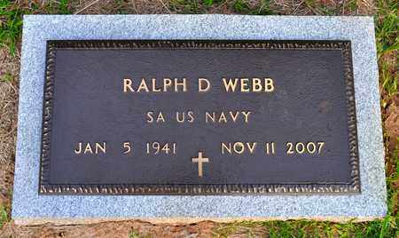 WEBB, RALPH D (VETERAN - Sabine County, Louisiana | RALPH D (VETERAN WEBB - Louisiana Gravestone Photos