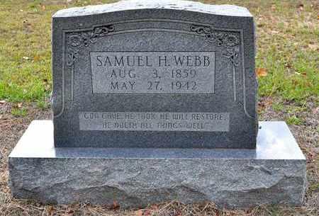 WEBB, SAMUEL H - Sabine County, Louisiana | SAMUEL H WEBB - Louisiana Gravestone Photos