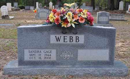 WEBB, SANDRA - Sabine County, Louisiana | SANDRA WEBB - Louisiana Gravestone Photos