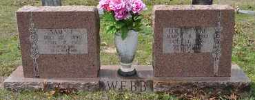 WEBB, LOLLIE MAE - Sabine County, Louisiana | LOLLIE MAE WEBB - Louisiana Gravestone Photos
