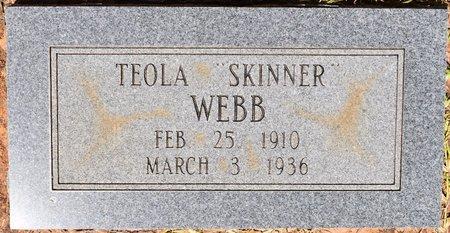 WEBB, TEOLA - Sabine County, Louisiana | TEOLA WEBB - Louisiana Gravestone Photos