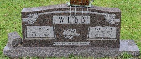 WEBB, THELMA - Sabine County, Louisiana | THELMA WEBB - Louisiana Gravestone Photos