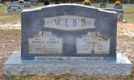 COOPER WEBB, NANNIE - Sabine County, Louisiana | NANNIE COOPER WEBB - Louisiana Gravestone Photos