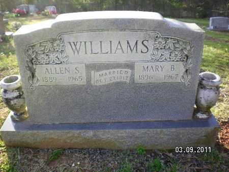 WILLIAMS, ALLEN STROUD - Sabine County, Louisiana | ALLEN STROUD WILLIAMS - Louisiana Gravestone Photos