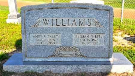 WILLIAMS, BENJAMIN LITE - Sabine County, Louisiana   BENJAMIN LITE WILLIAMS - Louisiana Gravestone Photos