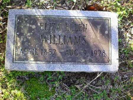 WILLIAMS, ELIZA ELLEN - Sabine County, Louisiana | ELIZA ELLEN WILLIAMS - Louisiana Gravestone Photos