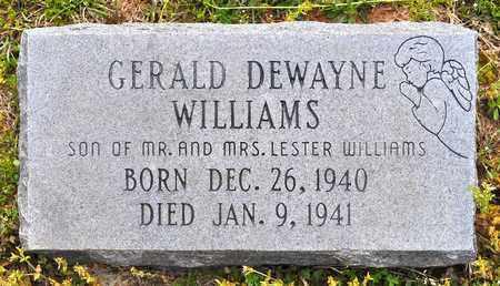 WILLIAMS, GERALD DEWAYNE - Sabine County, Louisiana | GERALD DEWAYNE WILLIAMS - Louisiana Gravestone Photos