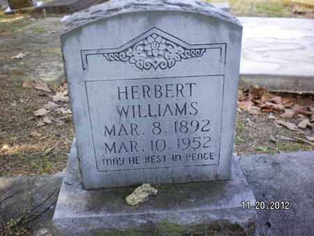 WILLIAMS, HERBERT - Sabine County, Louisiana   HERBERT WILLIAMS - Louisiana Gravestone Photos