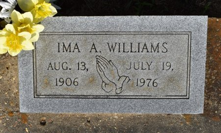 WILLIAMS, IMA RUTH - Sabine County, Louisiana | IMA RUTH WILLIAMS - Louisiana Gravestone Photos