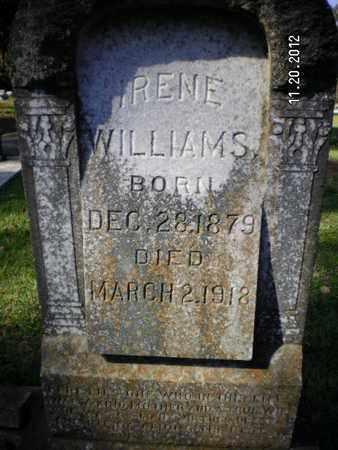 WILLIAMS, IRENE - Sabine County, Louisiana   IRENE WILLIAMS - Louisiana Gravestone Photos