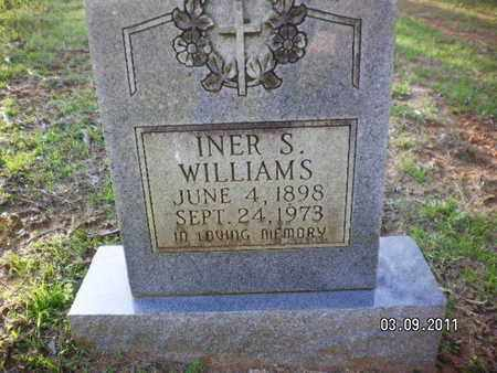 WILLIAMS, INER S - Sabine County, Louisiana | INER S WILLIAMS - Louisiana Gravestone Photos