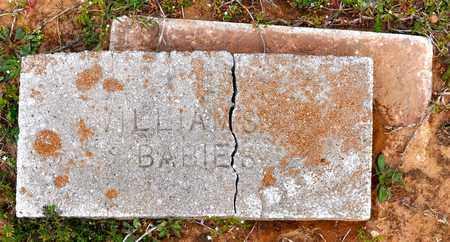 WILLIAMS, INFANT - Sabine County, Louisiana | INFANT WILLIAMS - Louisiana Gravestone Photos