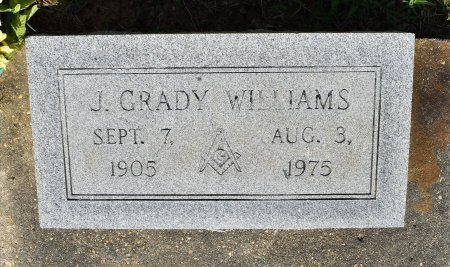 WILLIAMS, J GRADY - Sabine County, Louisiana | J GRADY WILLIAMS - Louisiana Gravestone Photos
