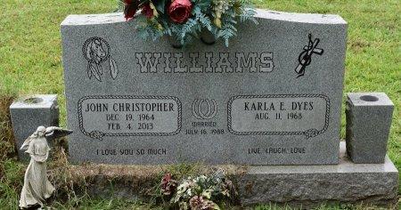 WILLIAMS, JOHN CHRISTOPHER - Sabine County, Louisiana   JOHN CHRISTOPHER WILLIAMS - Louisiana Gravestone Photos