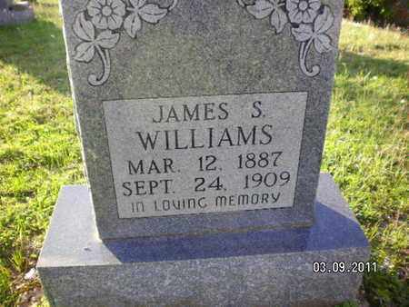 WILLIAMS, JAMES S - Sabine County, Louisiana | JAMES S WILLIAMS - Louisiana Gravestone Photos