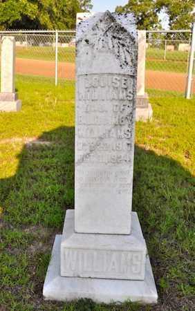 WILLIAMS, LOUISE - Sabine County, Louisiana | LOUISE WILLIAMS - Louisiana Gravestone Photos