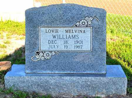 WILLIAMS, LOVIE MELVINA - Sabine County, Louisiana | LOVIE MELVINA WILLIAMS - Louisiana Gravestone Photos