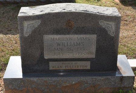 WILLIAMS, MARILYN - Sabine County, Louisiana | MARILYN WILLIAMS - Louisiana Gravestone Photos