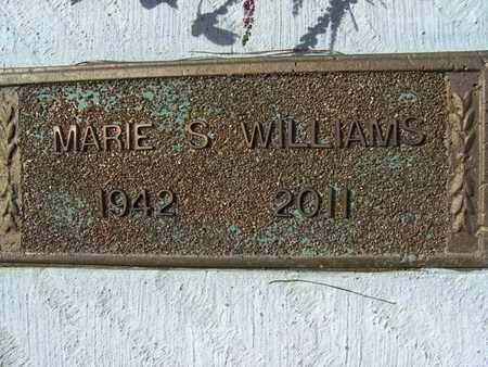 WILLIAMS, MARIE S - Sabine County, Louisiana | MARIE S WILLIAMS - Louisiana Gravestone Photos
