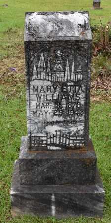 WILLIAMS, MARY ETTA - Sabine County, Louisiana | MARY ETTA WILLIAMS - Louisiana Gravestone Photos