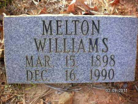WILLIAMS, MELTON - Sabine County, Louisiana | MELTON WILLIAMS - Louisiana Gravestone Photos