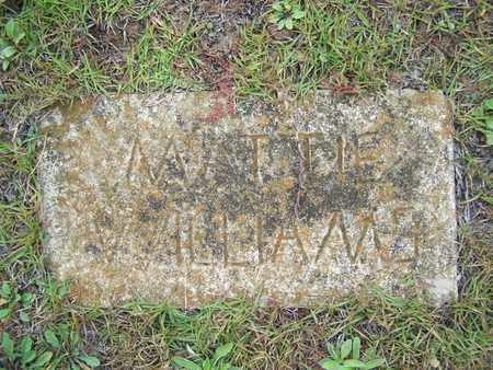 WILLIAMS, MATTIE - Sabine County, Louisiana   MATTIE WILLIAMS - Louisiana Gravestone Photos