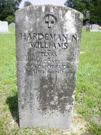WILLIAMS, HARDEMAN N (VETERAN) - Sabine County, Louisiana | HARDEMAN N (VETERAN) WILLIAMS - Louisiana Gravestone Photos