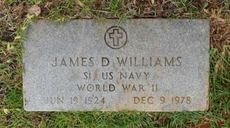 WILLIAMS, JAMES D (VETERAN WWII) - Sabine County, Louisiana | JAMES D (VETERAN WWII) WILLIAMS - Louisiana Gravestone Photos