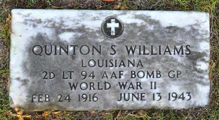 WILLIAMS, QUINTON S (VETERAN WWII, KIA) - Sabine County, Louisiana | QUINTON S (VETERAN WWII, KIA) WILLIAMS - Louisiana Gravestone Photos