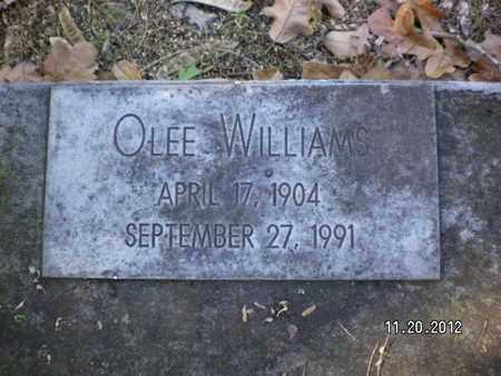 WILLIAMS, OLEE - Sabine County, Louisiana | OLEE WILLIAMS - Louisiana Gravestone Photos