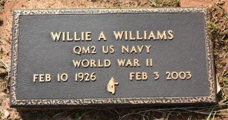 WILLIAMS, WILLIE ARCHIE (VETERAN WWII) - Sabine County, Louisiana | WILLIE ARCHIE (VETERAN WWII) WILLIAMS - Louisiana Gravestone Photos