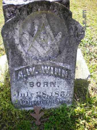 WINN, A W - Sabine County, Louisiana   A W WINN - Louisiana Gravestone Photos