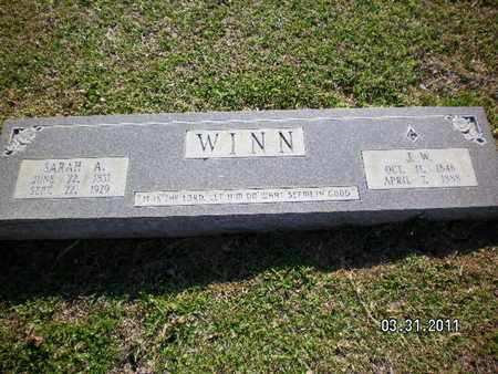 WINN, J W - Sabine County, Louisiana | J W WINN - Louisiana Gravestone Photos