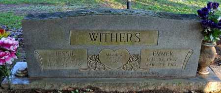 WITHERS, JESSIE - Sabine County, Louisiana | JESSIE WITHERS - Louisiana Gravestone Photos