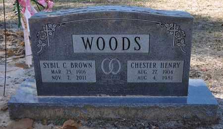 BROWN WOODS, SYBIL C - Sabine County, Louisiana | SYBIL C BROWN WOODS - Louisiana Gravestone Photos