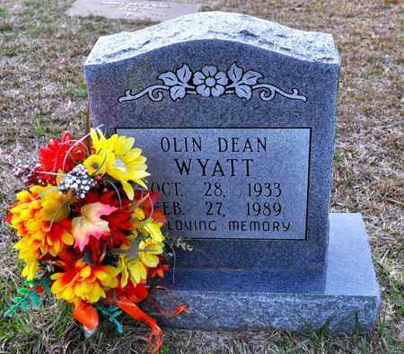 WYATT, OLIN DEAN - Sabine County, Louisiana | OLIN DEAN WYATT - Louisiana Gravestone Photos