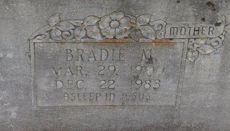 WYATT, BRADIE M (CLOSE UP) - Sabine County, Louisiana   BRADIE M (CLOSE UP) WYATT - Louisiana Gravestone Photos