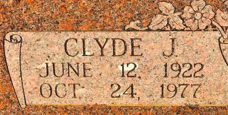 WYATT, CLYDE J - Sabine County, Louisiana | CLYDE J WYATT - Louisiana Gravestone Photos