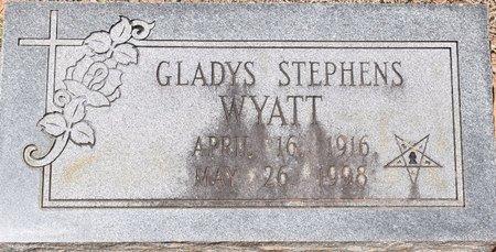 WYATT, GLADYS - Sabine County, Louisiana | GLADYS WYATT - Louisiana Gravestone Photos