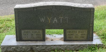 WYATT, JOHN VIRGIL - Sabine County, Louisiana | JOHN VIRGIL WYATT - Louisiana Gravestone Photos