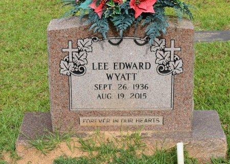 WYATT, LEE EDWARD - Sabine County, Louisiana   LEE EDWARD WYATT - Louisiana Gravestone Photos