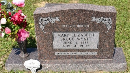 WYATT, MARY ELIZABETH - Sabine County, Louisiana | MARY ELIZABETH WYATT - Louisiana Gravestone Photos