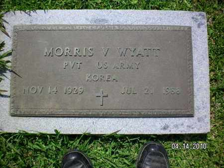 WYATT, MORRIS V (VETERAN KOR) - Sabine County, Louisiana | MORRIS V (VETERAN KOR) WYATT - Louisiana Gravestone Photos