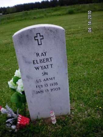 WYATT, RAY ELBERT (VETERAN) - Sabine County, Louisiana   RAY ELBERT (VETERAN) WYATT - Louisiana Gravestone Photos