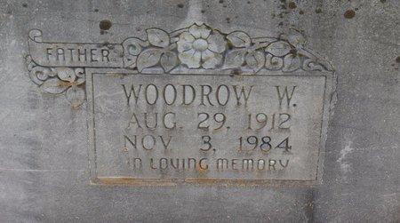 WYATT, WOODROW W (CLOSE UP) - Sabine County, Louisiana | WOODROW W (CLOSE UP) WYATT - Louisiana Gravestone Photos