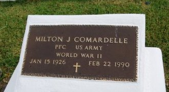 COMMARDELLE, MILTON J  (VETERAN WWII) - St. Charles County, Louisiana | MILTON J  (VETERAN WWII) COMMARDELLE - Louisiana Gravestone Photos