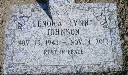 "JOHNSON, LENORA  ""LYNN: - St. Charles County, Louisiana | LENORA  ""LYNN: JOHNSON - Louisiana Gravestone Photos"